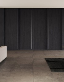 01.Linvisibile_Marea_Altopiano by Giulio Cappellini_Stained black oak finish