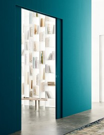 01.Linvisibile_Marea_Pocket door_Wallpaper finish