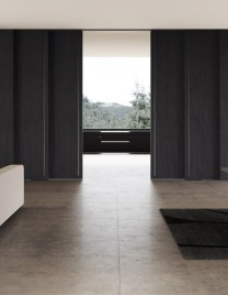 02.Linvisibile_Marea_Altopiano by Giulio Cappellini_Stained black oak finish